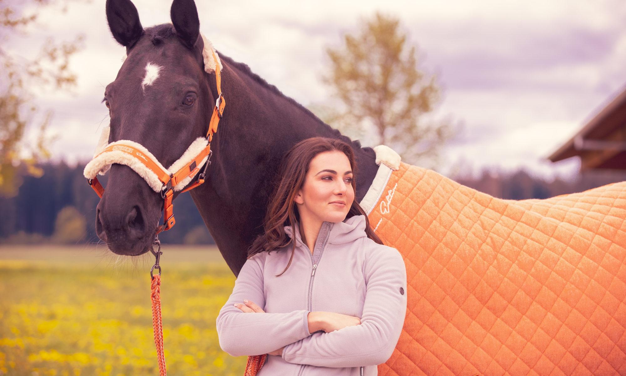 Kantar i derka vermillion-orange z kolekcji Eskadron Platinum 2019/20